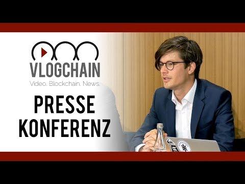 Pressekonferenz zur Gründung des Bundesverbands Blockchain e.V. (30.06.2017)