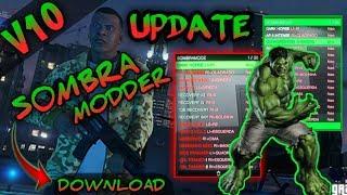 GTAV PS3 Mod menu SombraModz v10 1.27/1.28 Dex/Cex Bles/Blus (Personalizada) + Download Free