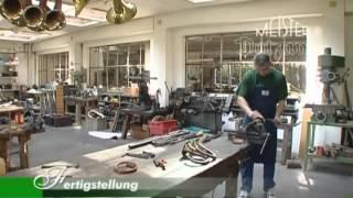 Herstellung eines Fürst-Pless-Horns