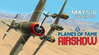 Planes of Fame Airshow 2018 promo