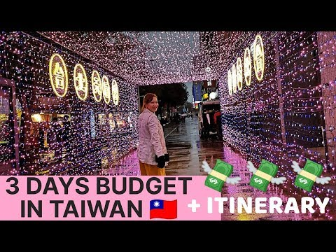 MAGKANO ANG BUDGET FOR 3 DAYS IN TAIWAN + ITINERARY | Correction @ 12:39, It's Shifen Waterfalls✌️