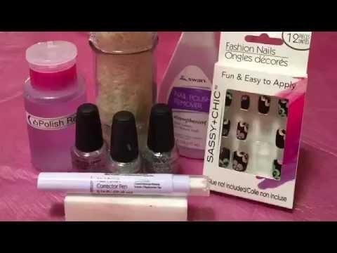 dollar-tree-store-product-review---sassy-+-chic-nail-polish-corrector-pen---july-25,-2016
