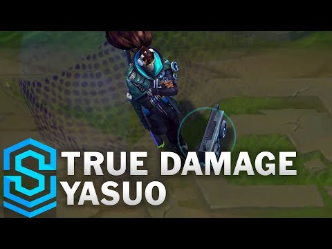 True Damage Yasuo Skin Spotlight - League of Legends
