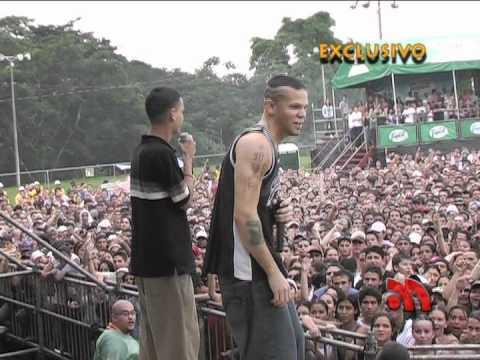 Download Calle 13 y Joss en costa rica 2007 evolucion vox 2007