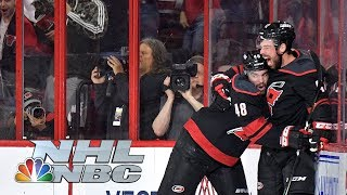 NHL Stanley Cup Playoffs 2019: Islanders vs. Hurricanes | Game 4 Highlights | NBC Sports