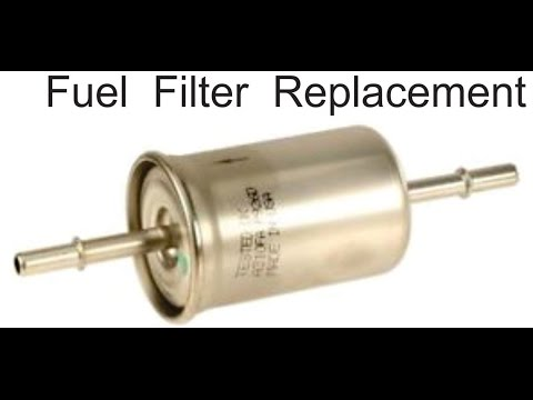 ford change the fuel filter ford cambia el filtro de. Black Bedroom Furniture Sets. Home Design Ideas