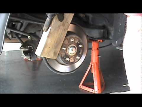 2003 Acura Tl S Type Rear Brake Job Part 1 Youtube