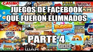 Juegos de Facebook que han sido eliminados/retirados | Parte 4