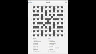 Four Down Crossword App for iPhone & iPad