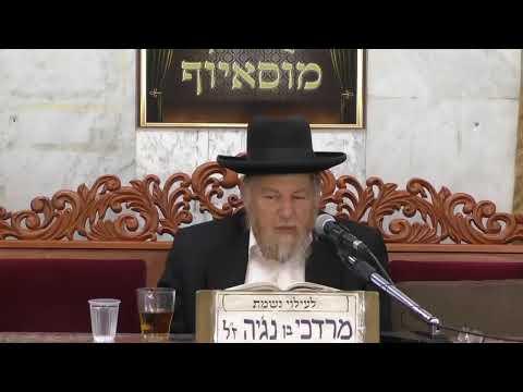 שידור חי בית הכנסת מוסיוף יום רביעי 7.8.19