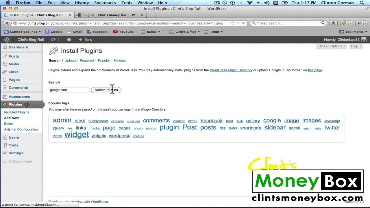 how to install google xml sitemap plugin how to set up site map