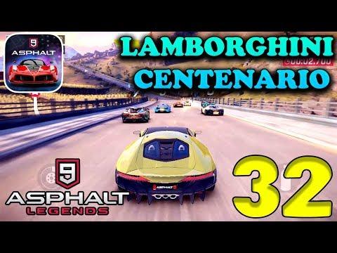 Asphalt 9 Legends Lamborghini Centenario Android Ios Gameplay