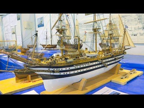 AMAZING HISTORICAL SHIPS SCALE STAND MODELS  / Modell Süd Stuttgart 2016
