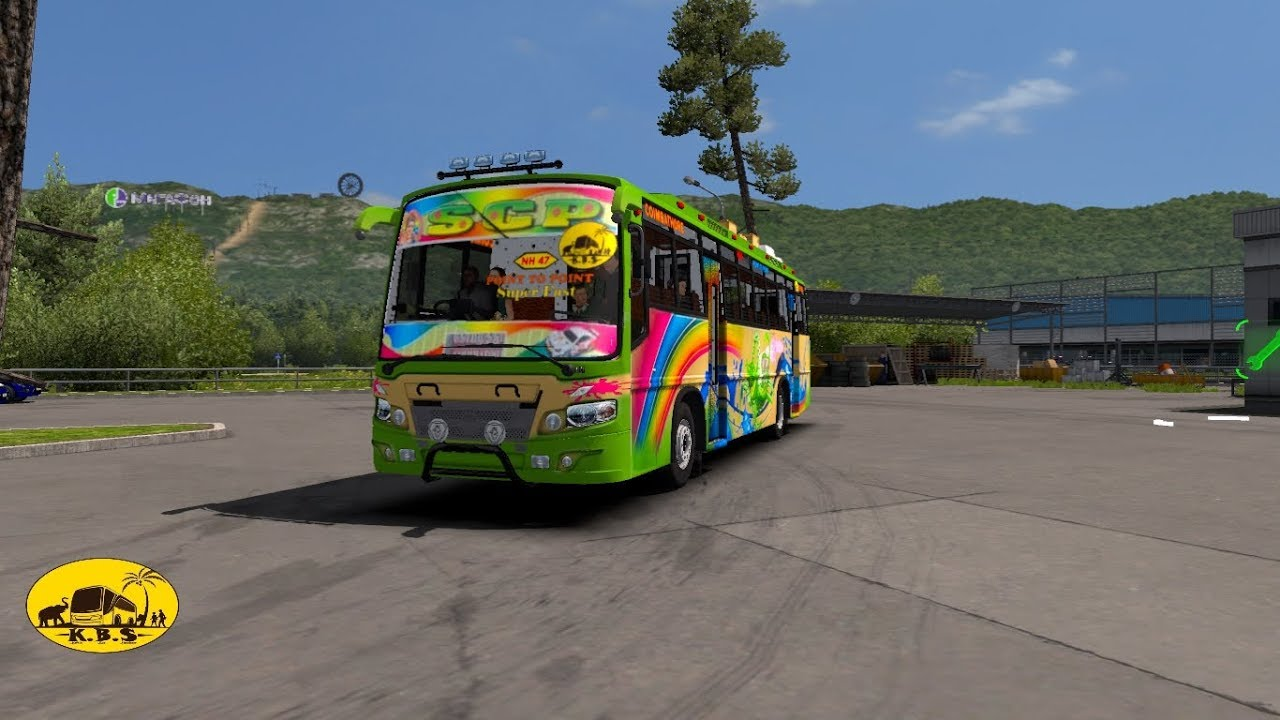SCP Motors Ride with|| KBS Bus Traffic beta ver 01||Game Ets2||