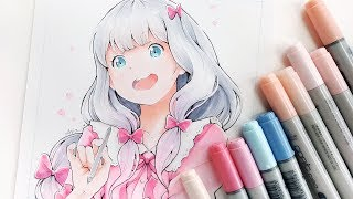 Copic Manga Drawing - Sagiri