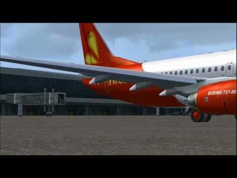 FSX Firefly Malaysia WBKK to WBKS Flight!