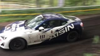 2016 ARK Sprint 300、SS4 MACINTOSH 2、 ラリーチャレンジカップ in 豊浦