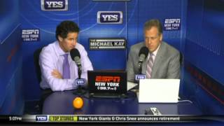 Paul O'Neill joins Michael Kay in studio to talk Yankees - The Michael Kay Show