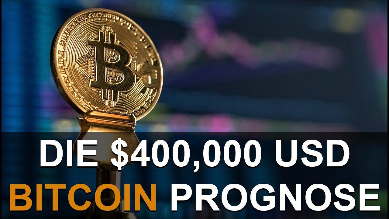 BITCOIN & DIE $400,000 USD PROGNOSE
