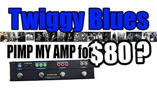 Pimp my Amp for $80? (Twiggy Blues Demo through Dark Terror) You be the Judge :-)