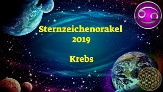 Sternzeichen Krebs 2019  Dein Jahresorakel