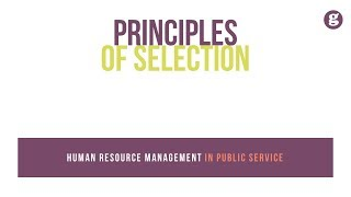 Selection is arguably the most momentous and politically sensitive aspect of human resource activities. indeed, historical eras management ...