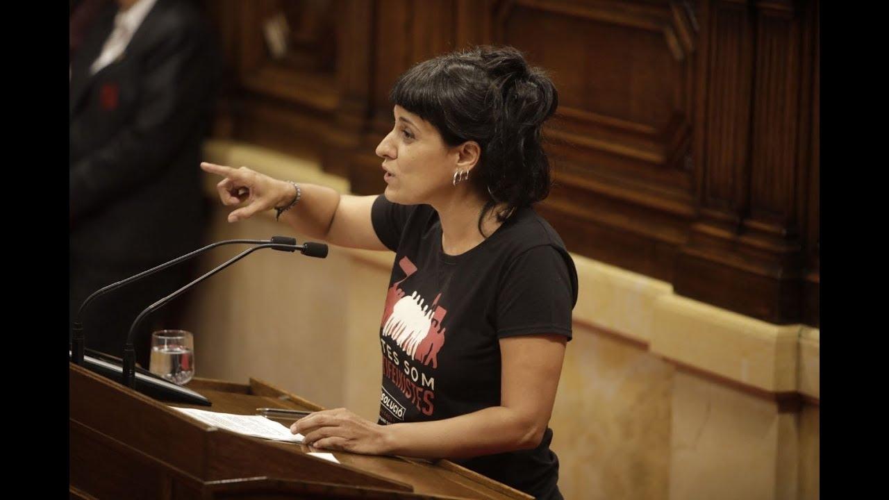 """Anna Gabriel:  """"Hem escollit autodeterminar-nos. Hem decidit governar-nos"""""""