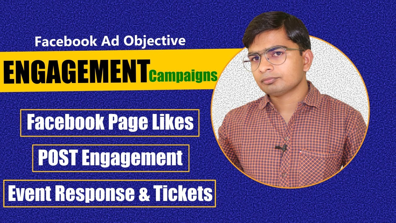 Engagement Facebook Ad Objective | Page Likes, Post Engagement & Event Response