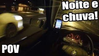 Role Noturno de BMW e DS3! Tentando traseirar a BM! POV