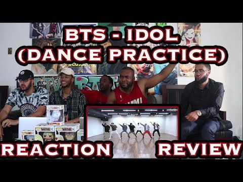 CHOREOGRAPHY BTS 방탄소년단 'IDOL' Dance Practice REACTION/REVIEW