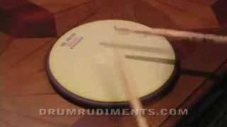 Drum Rudiments #33 - Double Drag Tap - DrumRudiments.com