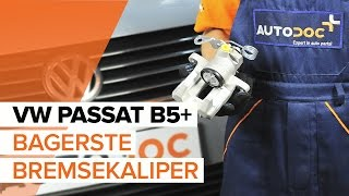 Se en videovejledning til hvordan du udskifter Bremsecaliper på VW EOS