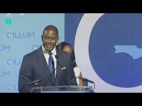 Andrew Gillum Concedes Florida Governor Race #midterms