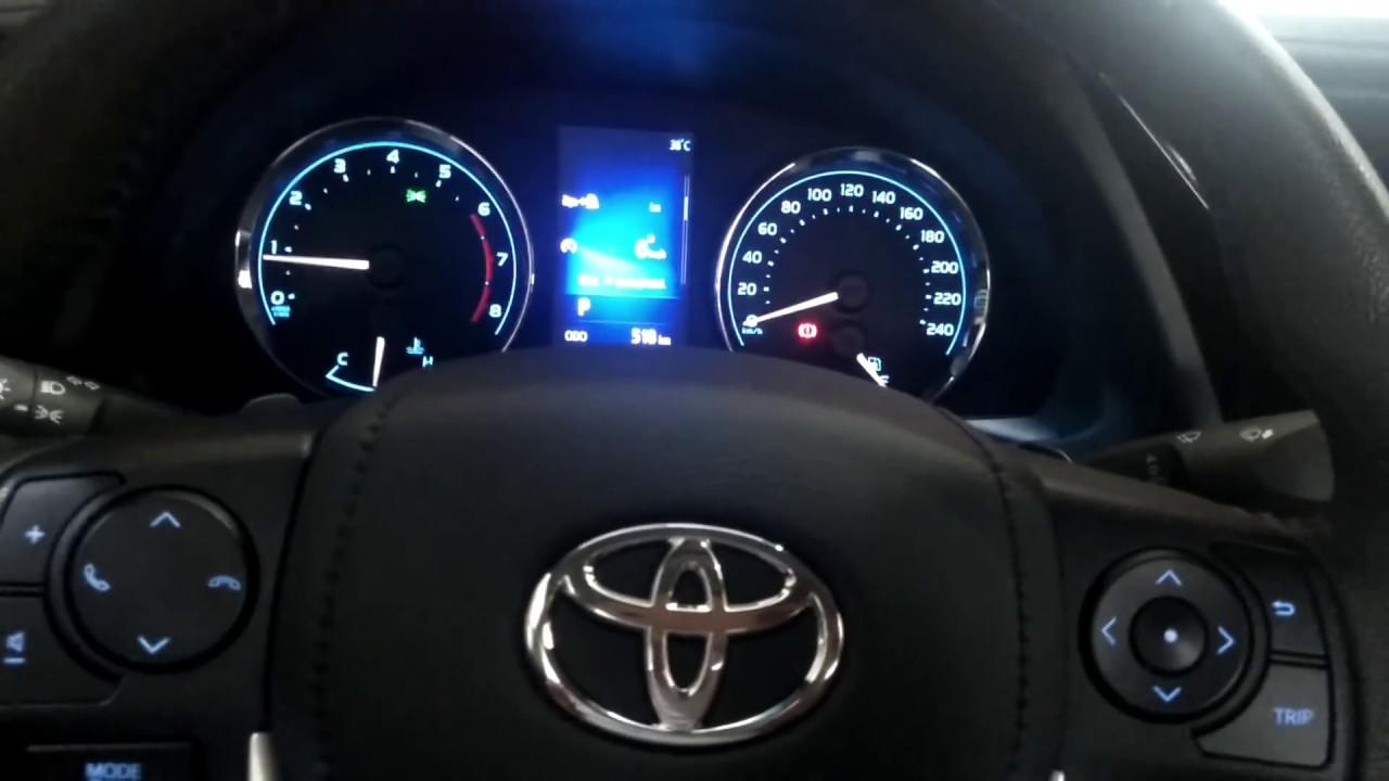 Toyota Corolla 2017 >> Instalaçao do volante multifuncional e painel do Corolla ...