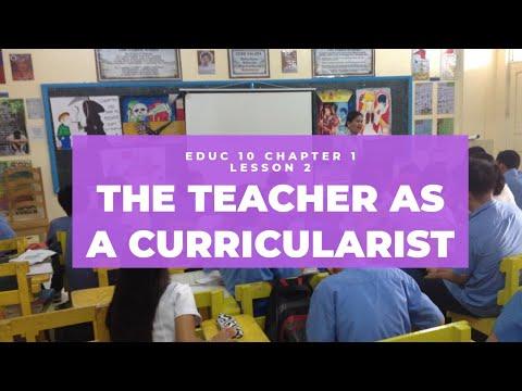 THE TEACHER AS A CURRICULARIST | EDUC 10 CURRICULUM DEV'T • CHAPTER 1 LESSON 2 | Maiet Sangco