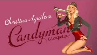 Christina Aguilera - Candyman (Acapella Snippet)