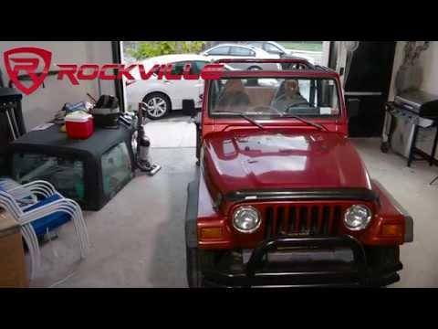 How to install front speakers into a 1997-2002 Jeep Wrangler