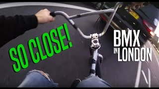 RIDING BMX IN LONDON (COMMUTING IS OVER RATED #2)
