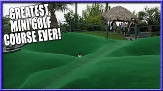 THE BEST MINI GOLF COURSE EVER - HOLE IN ONES AND CRAZY SHOTS - WIN FREE GAMES FOR LIFE [4K]
