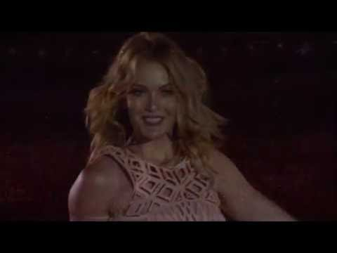 Paralympic Snowboarder Amy Purdy Performs At The Rio 2016 Opening Ceremony