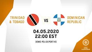 CFC 2021  Trinidad  Tobago vs Dominican Republic