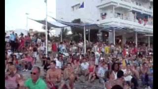 Filmed Outside Cafe Del Mar Ibiza - Olive Your not alone