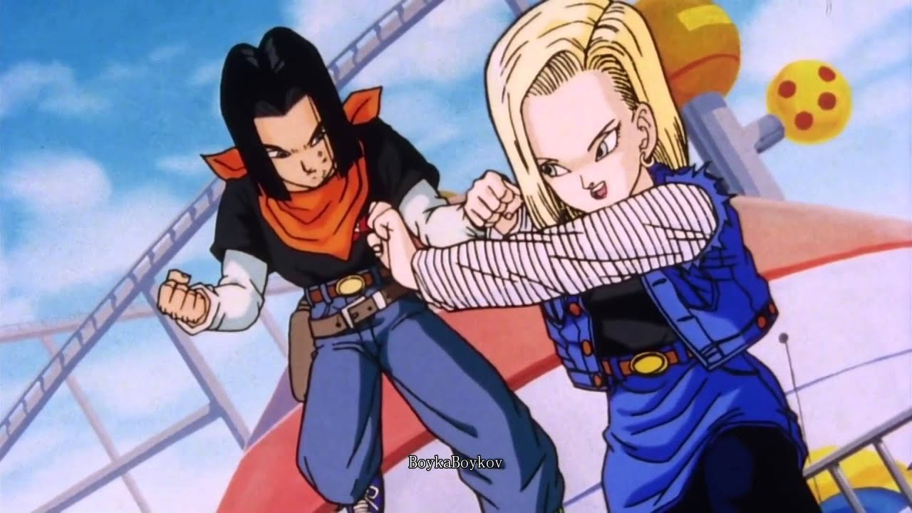Android 18 and marron hentai dbs - 5 4