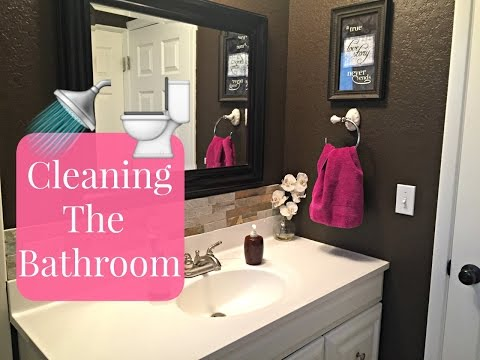 How To Deep Clean Your Bathroom | Bathroom Cleaning Tutorial