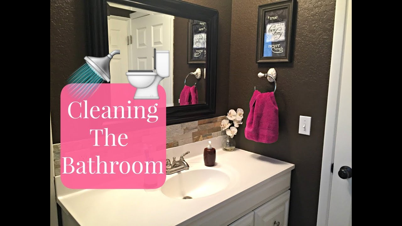 How To Clean Your Bathroom How To Deep Clean Your Bathroom  Bathroom Cleaning Tutorial  Youtube