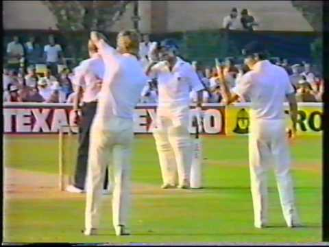 Cricket : Essex v Hampshire - John Player League 1984