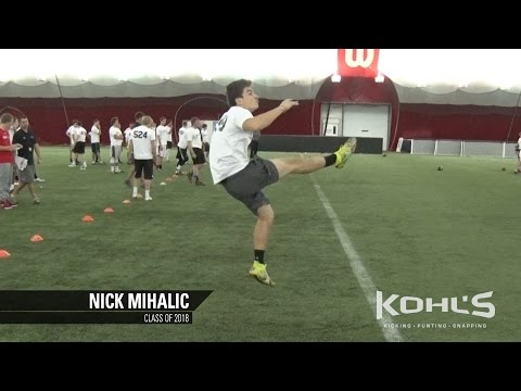 Nick Mihalic | #4 Ranked Punter in America | Class of 2018