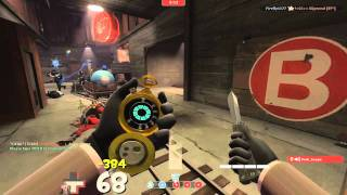 TF2 - Spy on Barnblitz (Commentary) - Dead Ringer tips