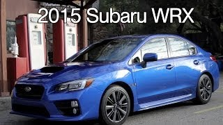 video thumbnail of 2015 Subaru WRX First Impressions