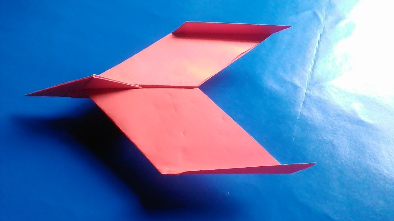 Paper Airplane Template | How To Make A Easy Paper Airplane New Design Paper Plane Youtube
